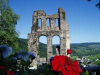 Die Grevenburg in Traben-Trarbach ist die ehemalige Residenz der Grafen von Sponheim.